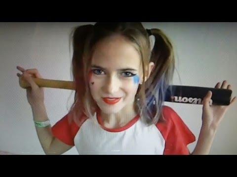 Nieuw 27 Halloween-kostuum maken: Harley Quinn - YouTube VS-97