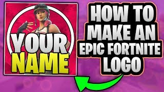 HOW TO MAKE AN EPIC FORTNITE LOGO AND A COOL BACKGROUND IN PHOTOSHOP!! + Free Template