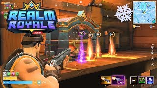 GAME BETTER THAN FORTNITE! -Realm Royale-Introduction, discussion of characters, abilities and #01