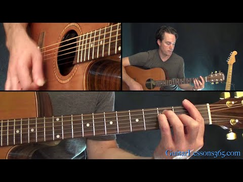 Mr. Jones Guitar Lesson - Counting Crows