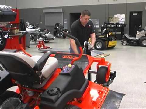 32ef36f3bdc Mojack XT Lifts Jack 500lb Lifts Zero Turn Lawn Mowers - YouTube