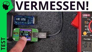 Bullshit: Sinnlose USB Messgeräte zur Leistungs- und Strommessung