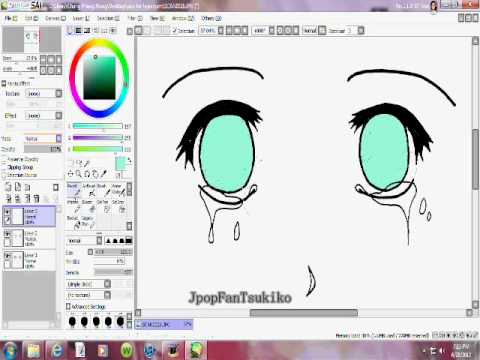 Sai paint tools coloring anime eyes crying normal coloring sai paint tools coloring anime eyes crying normal coloring with mouse ccuart Images
