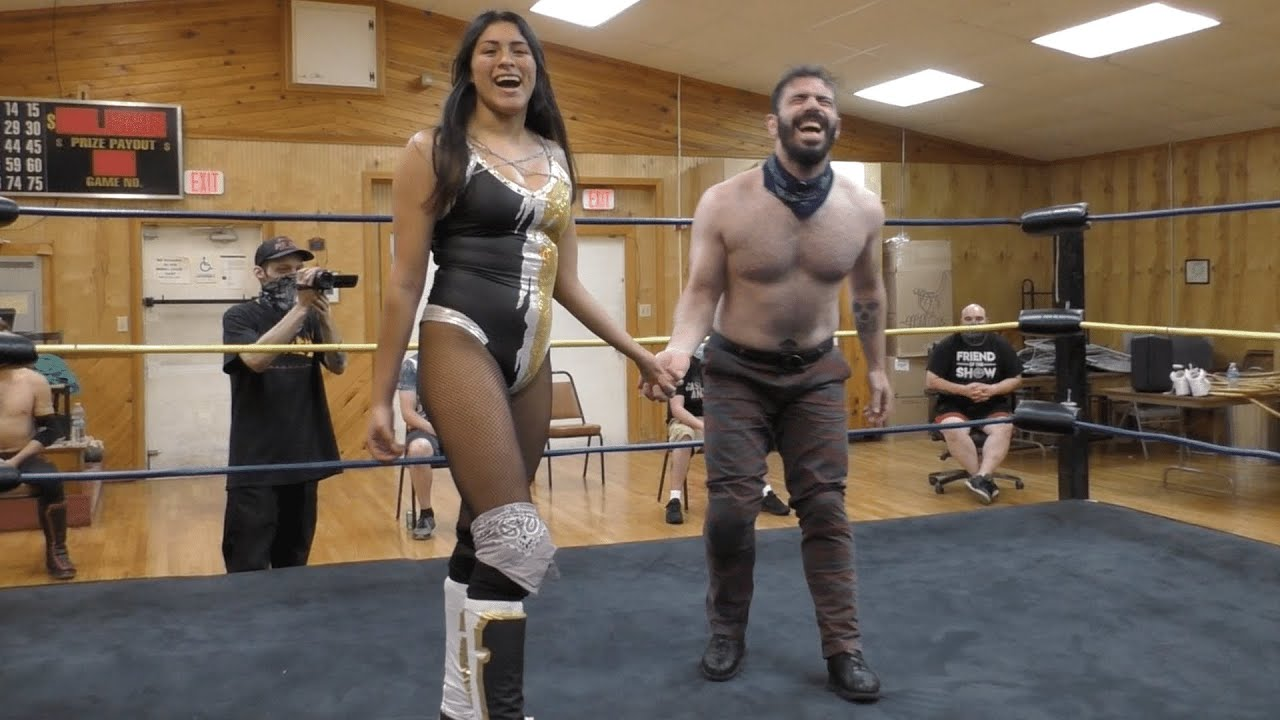 Download Delmi Exo vs. Nick Stapp - Limitless Wrestling (Intergender, Mixed, SHIMMER, AIW, The Road)