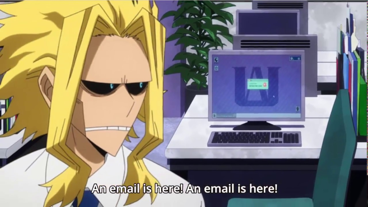 All Might - Mail is here (Mairu Ga kita) - Boku No Hero Academia