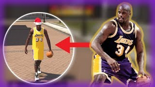 SHAQ DOMINATES PARK ON NBA 2K19! CHRISTMAS SHAQ! UNSTOPPABLE!