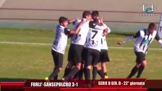 Serie D Girone D Forlì-V.A.Sansepolcro 3-1
