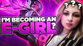 I'M BECOMING AN EGIRL?!?!? | Sanchovies