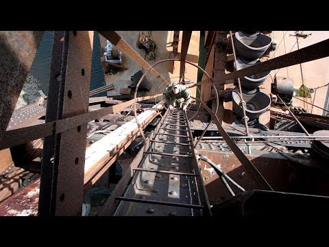 This is Crazy! Abandoned Gold Dredge Exploration - You've got to check this out!