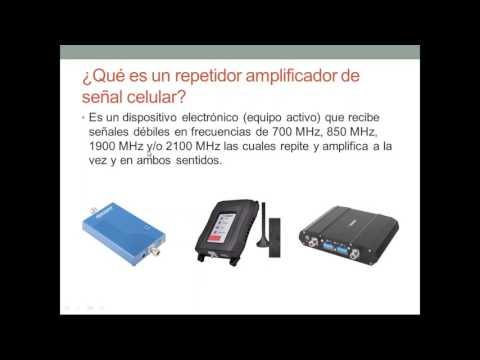 Amplificadores para Cobertura Celular 4G LTE, 3G y Voz
