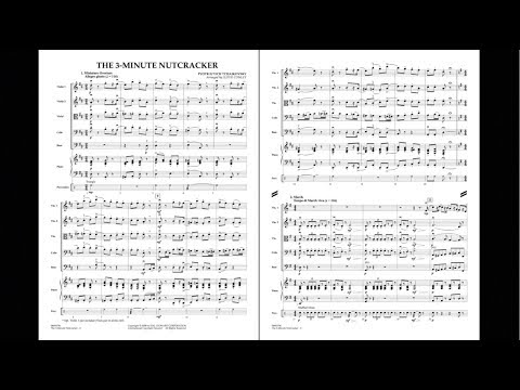 The Three-Minute Nutcracker by Pyotr Il'yich Tchaikovsky/arr. Lloyd Conley