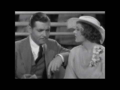 Manhattan Melodrama  (1934)    Clark Gable  ~  Myrna Loy,  Scene,  720p
