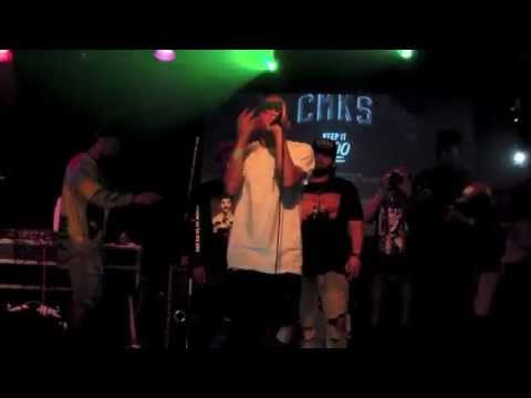 Al-Doe with Smoke Dza Live At Santos Party House NYC