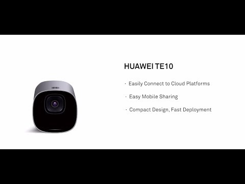 Huawei TE10, An Innovative Cloud-based Videoconferencing Endpoint