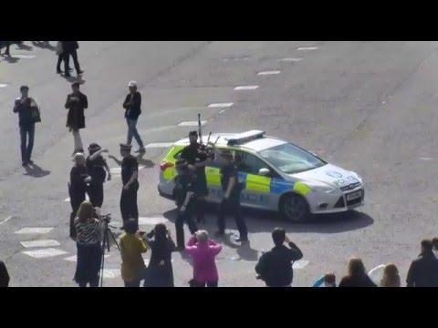 IndigoVision Ultra 2k camera captures the Scottish #RunningMan from Edinburgh Castle!