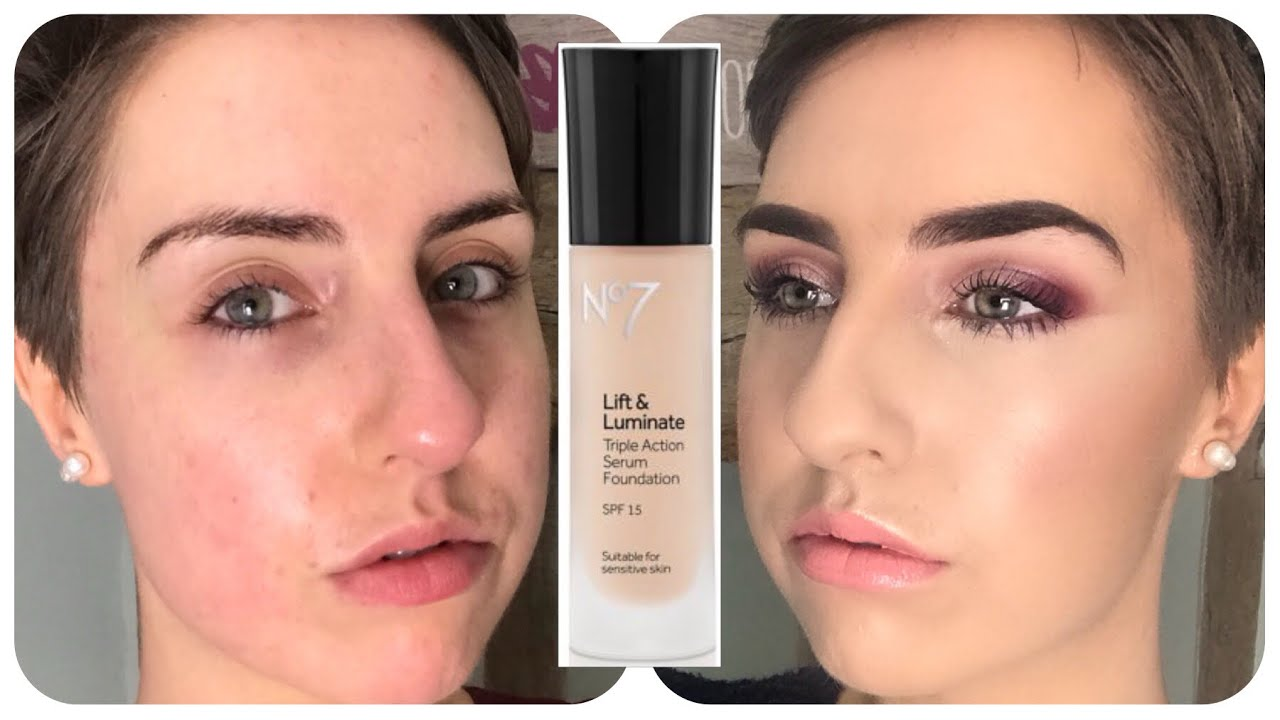 No7 Lift & Luminate Foundation 1st Impressions
