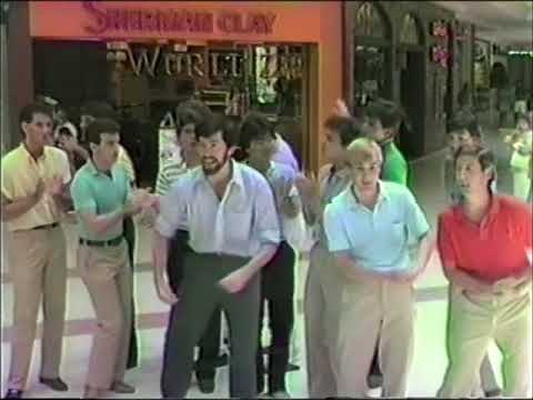 1983-84 Tufts University Beelzebubs at the Puente Hills Mall