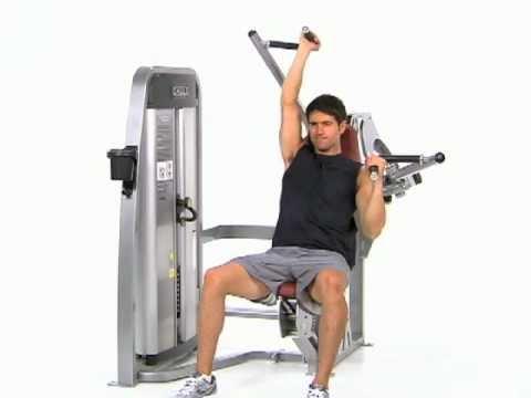 Shoulder Press Machine Alternating, Cl...