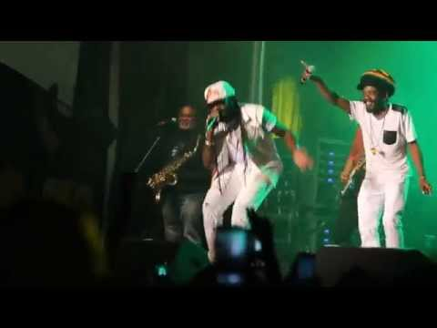 Montreal International Reggae Festival 2015 - Tarrus Riley Cocoa Tea n Shabba  (cln version)