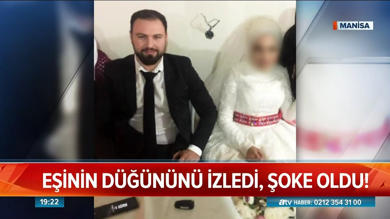 Kocasının düğününü izledi, şoke oldu! - Atv Haber 18 Ocak 2019
