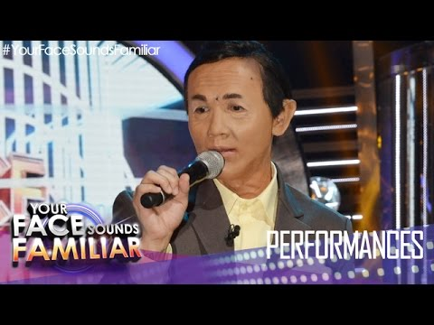 Your Face Sounds Familiar: Kean Cipriano as Jose Mari Chan  Beautiful Girl