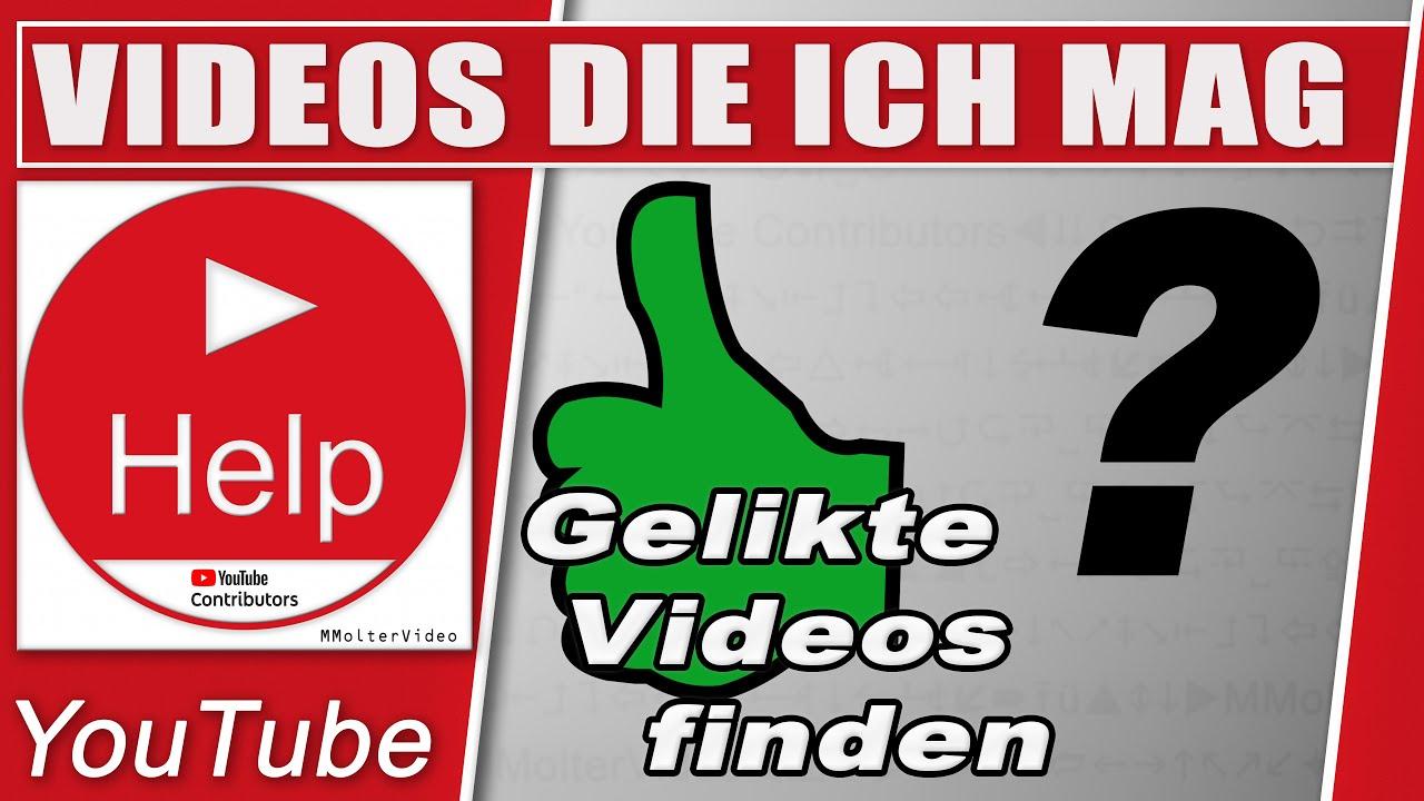 Youtube Meine Videos Finden