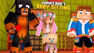 Minecraft - Donut the Dog Adventures -BABY LEAH MEETS LITTLE KELLY!!!!