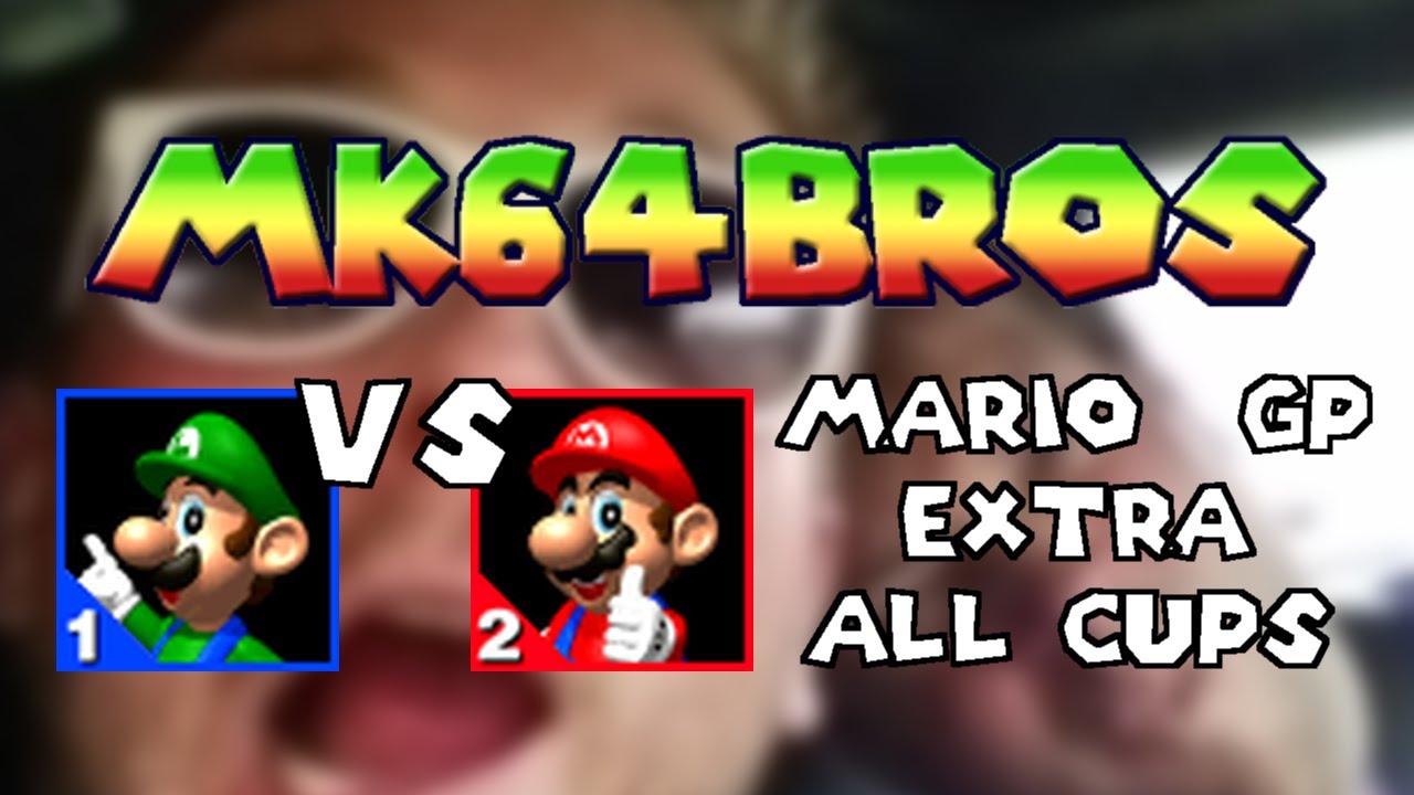 Mario Kart 64 Luigi Vs Mario Mk64bros Youtube