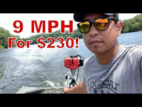 Sican 3.6 HP 52cc Outboard Jon Boat Motor 2-Stroke Engine |