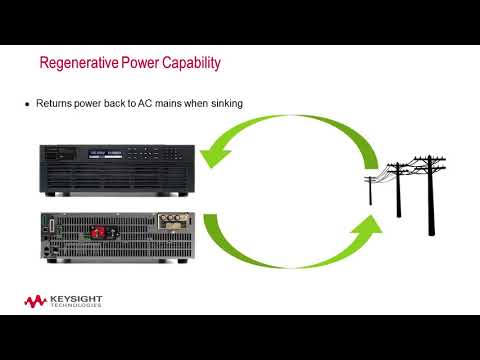 Keysight RP7900 Series Regenerative Power System Overview