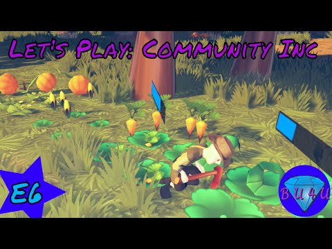 Yikes! Golems are tough! - Community Inc Alpha | Let's Play