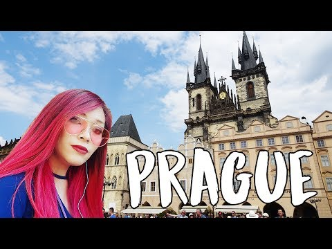 Prague, Czech Republic Travel Vlog || KRISTEN GOES TO EUROPE 🇨🇿