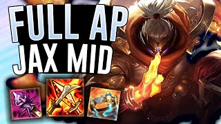 FULL AP JAX MID DOES SO MUCH DAMAGE!! - Off Meta Monday - League of Legends
