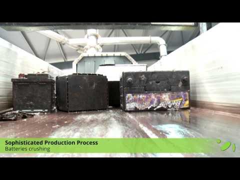 (EN) SUNLIGHT Recycling // Lead-acid Batteries Recycling (UL