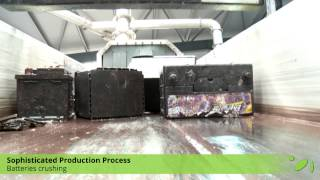 (EN) SUNLIGHT Recycling // Lead-acid Batteries Recycling (ULAB)