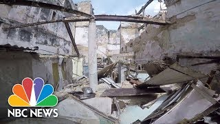 Havana, Cuba Home Collapses Under Hurricane Irma's Winds, Streets Flooded | NBC News