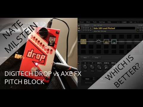 DigiTech Drop vs. Axe FX Pitch Block - Which Is Better For Drop Tuning?