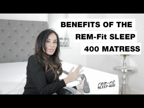 Benefits of the REM-Fit Sleep 400 Mattress