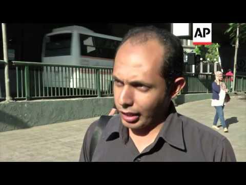 Reaction in Cairo to the jailing of three Al Jazeera journalists