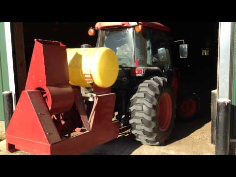 Lewis Bros. Mfg. - Poultry Blower Video 1