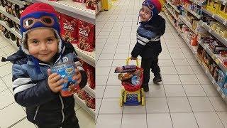 Yusuf Oyuncak Market Arabasıyla Alışveriş Yaptı, Bakalım Sepetini Neler ile Doldurdu?