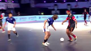 Ronaldinho Destroying Skills & Tricks in Premier Futsal 2017