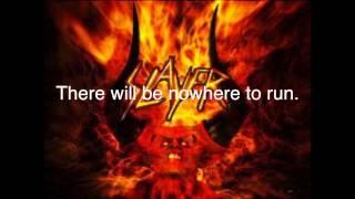 SS 3 By Slayer with Lyrics