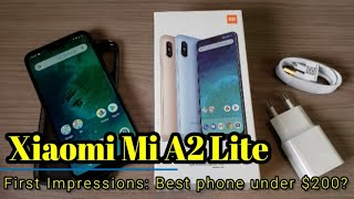 Xiaomi A2 Lite   First  Mpressions   A No Brainer For Under 200