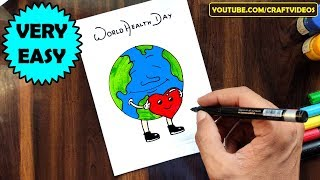 This is world health day drawing for you guys. as we all know that international on 07th april and are not far away from it. today our...