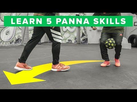 Learn 5 INSANE Panna Skills - HUMILIATING Nutmegs!