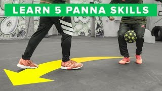 Learn 5 INSANE Panna Skills - HUMILIATING Nutmegs!