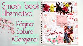 Smash Book Alternativo- Scrapbook by Tamy