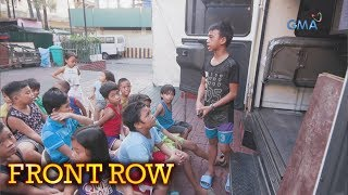 Front Row: Binatang nakatira sa bangketa, nagtuturo sa mga kapwa niya batang kalye