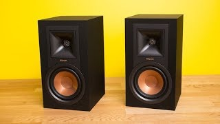 Klipsch Reference R-51M Has Retro Styling And Peppy Sound